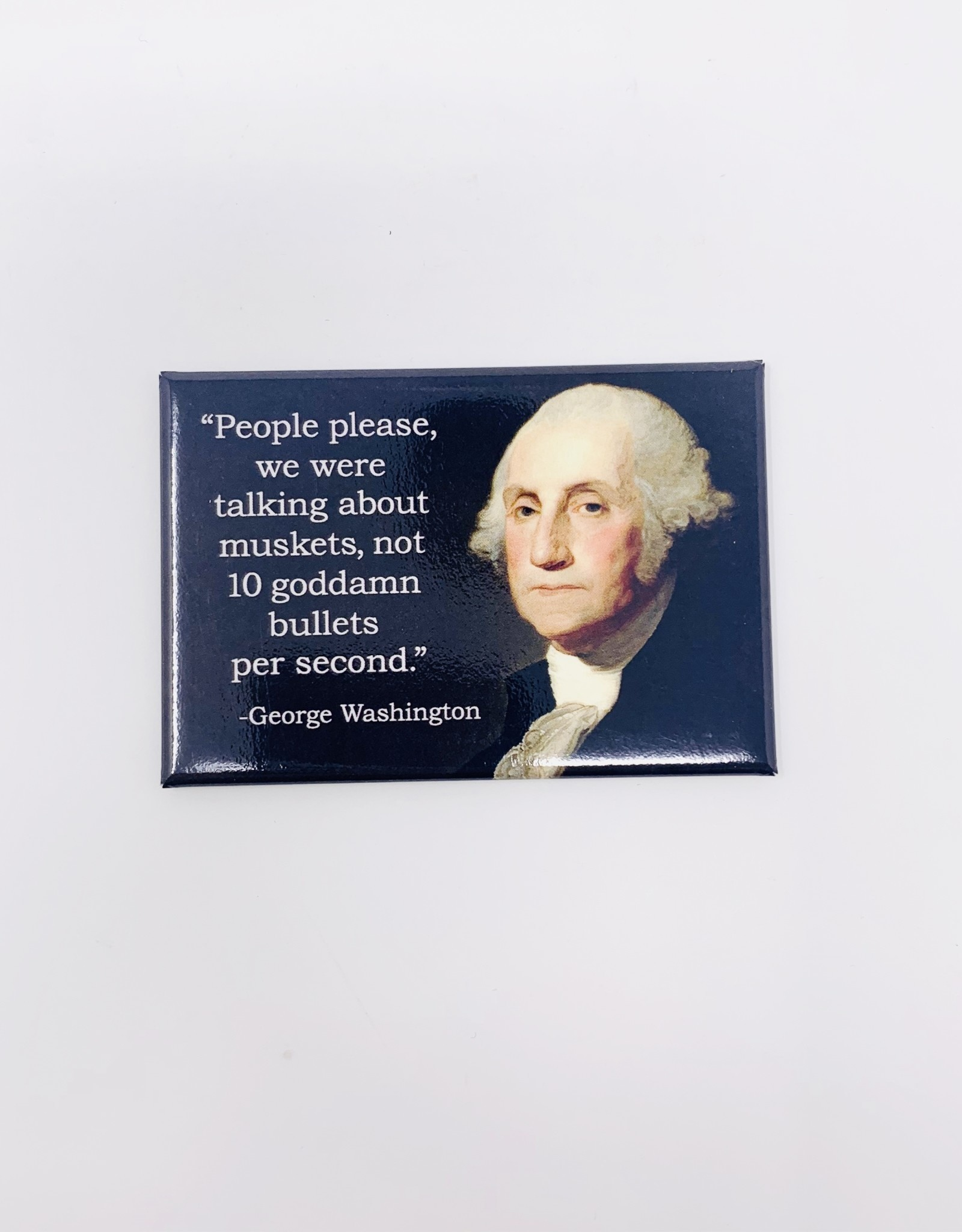 Ephemera George Washington magnet