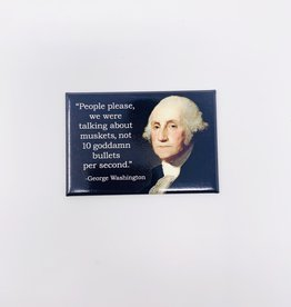 Ephemera George Washington magnet