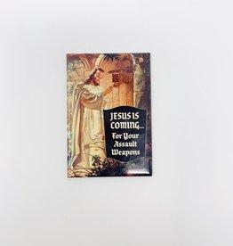 Ephemera Jesus is Coming… magnet