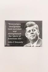 Ephemera John F Kennedy magnet