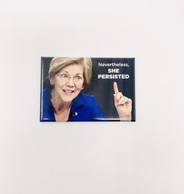 Ephemera Nevertheless She Persisted magnet