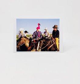 Palm Press Flamingo Cowboy