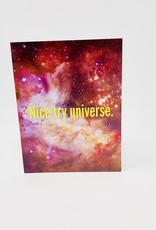 Mina Lee Studio Nice try universe