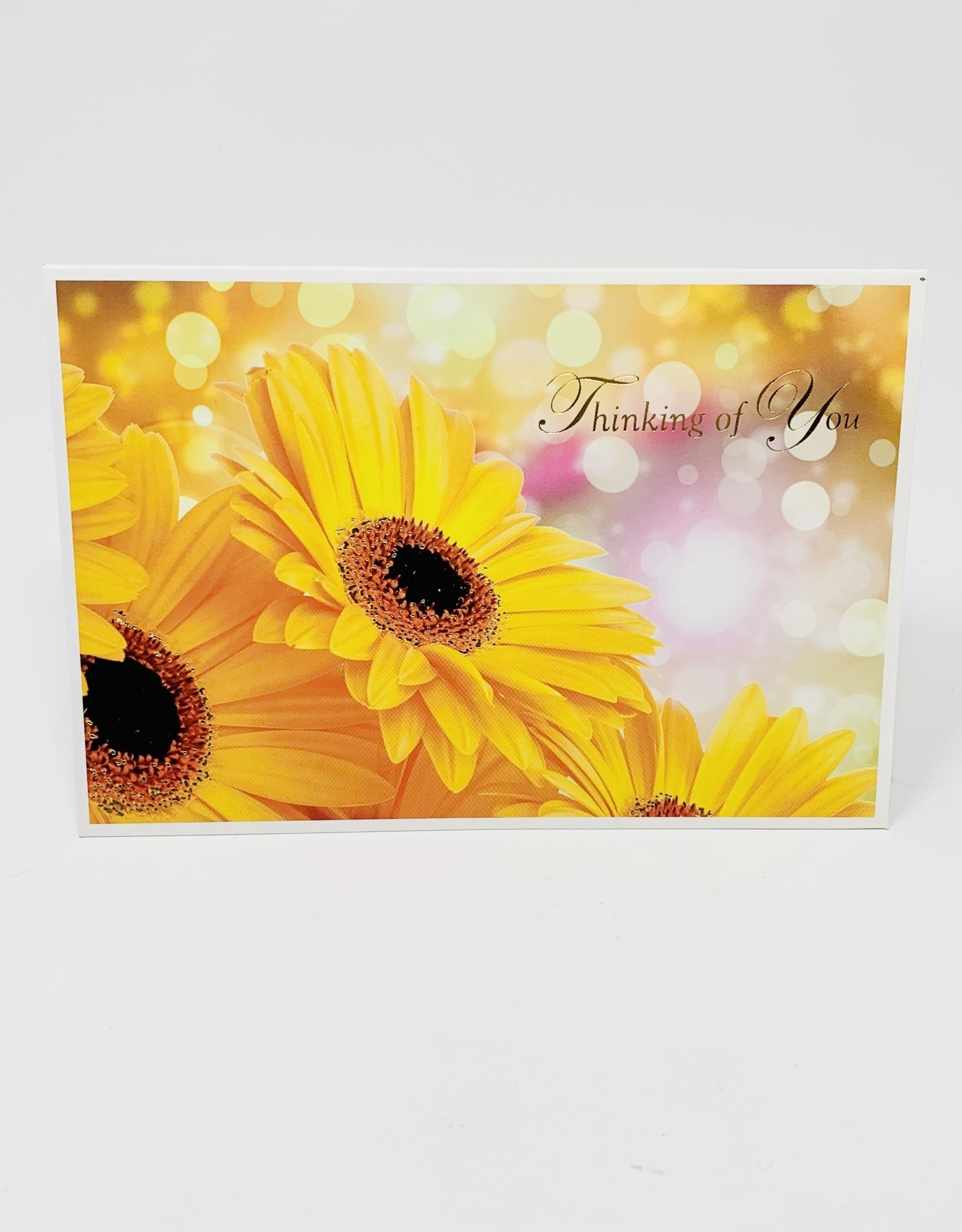Pictura Gold foil Sunflowers