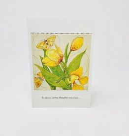 Pictura Yellow Flowers/butterflies