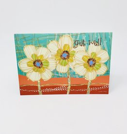 Pictura Get well Glitter flowers