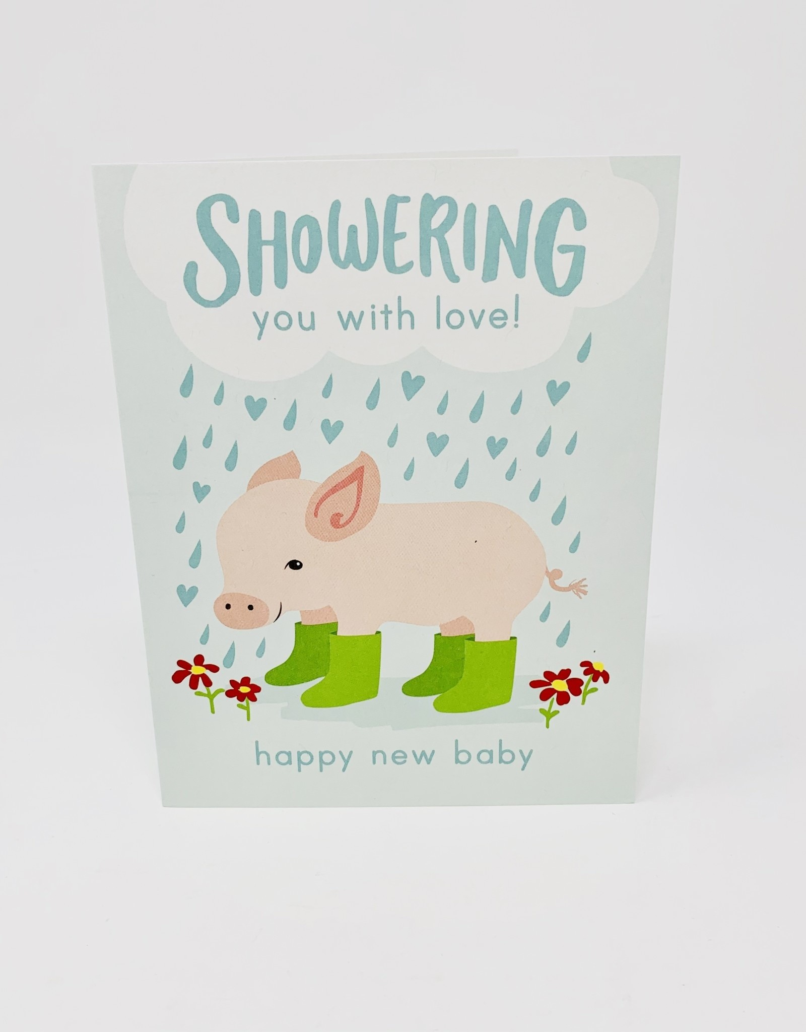Waste Not Paper Baby pig in boots
