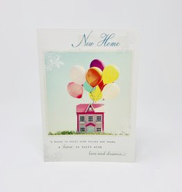 Nelson Line House With Balloons