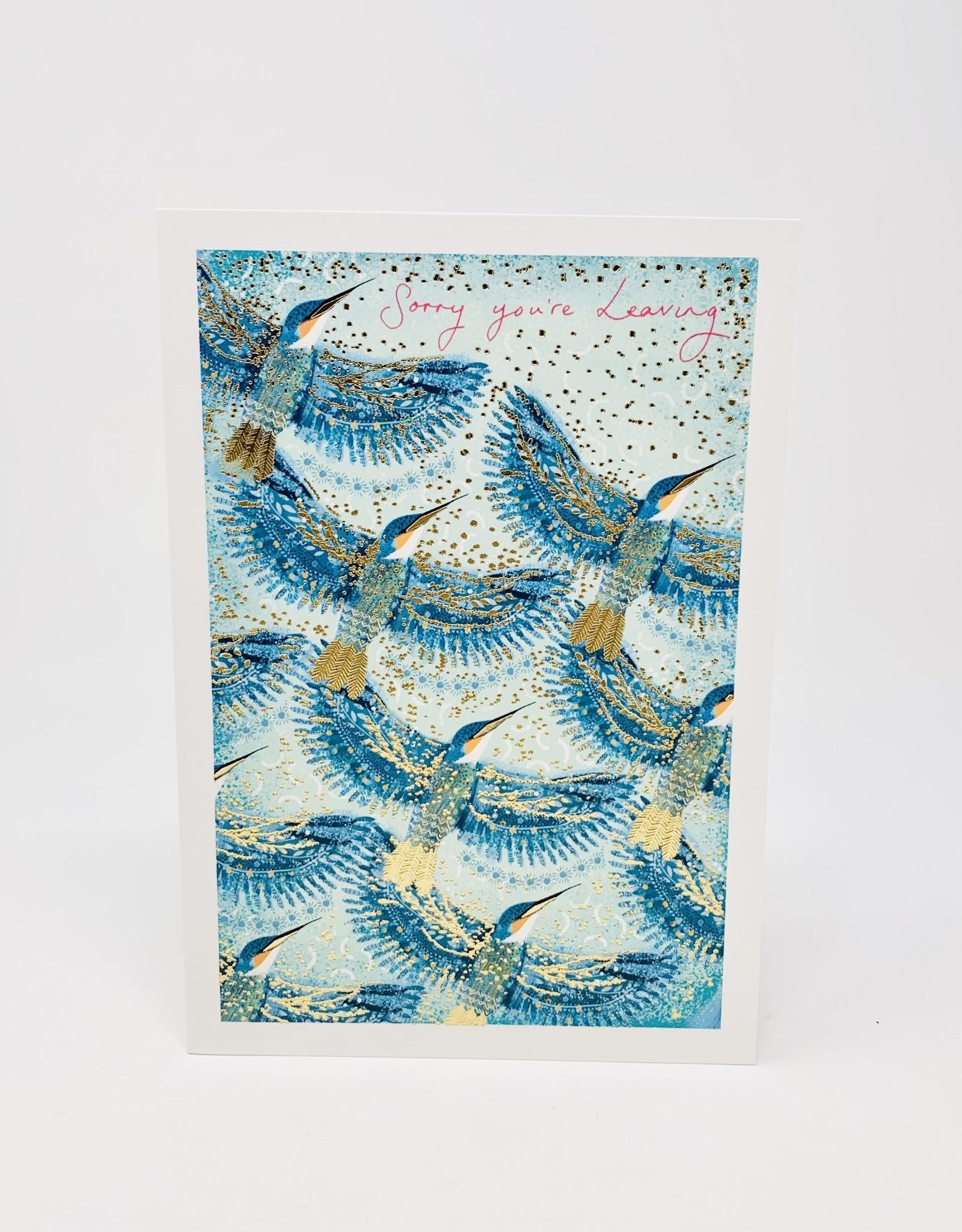 Nelson Line Blue/Gold hummingbirds