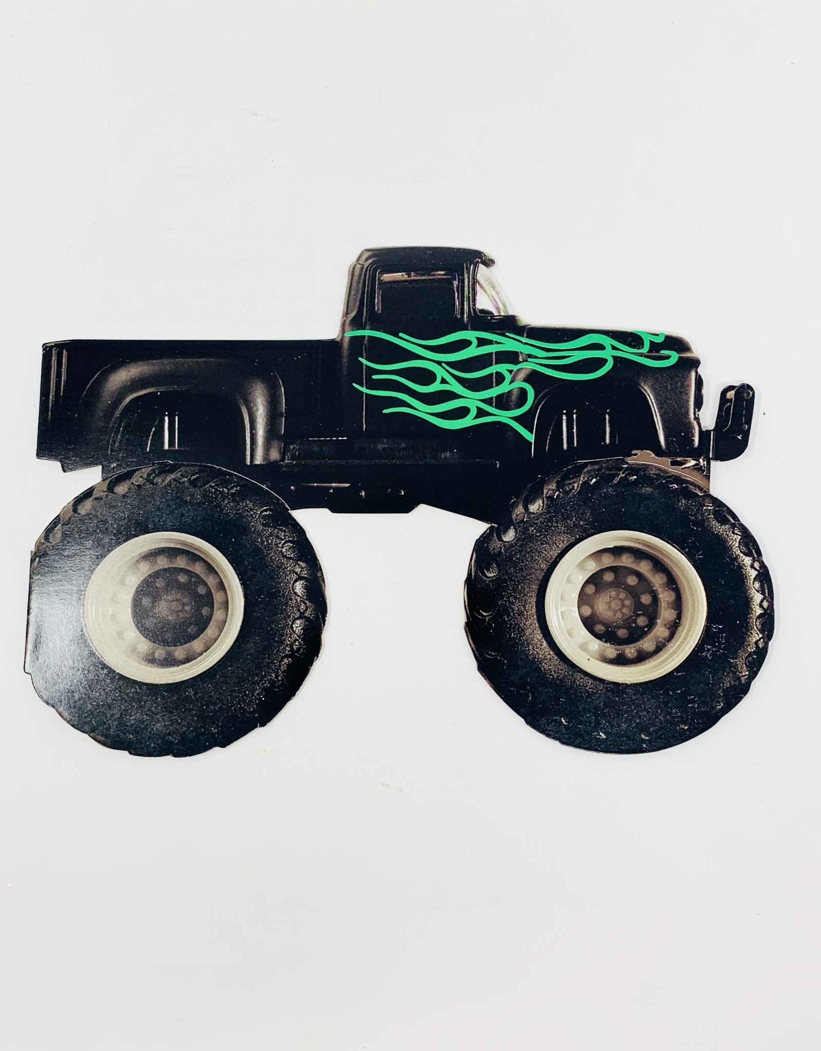 Design Design Truck w/ green Flames