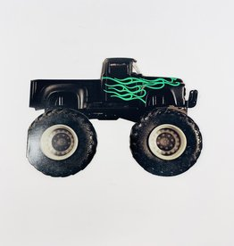Design Design Truck w/ green Flames