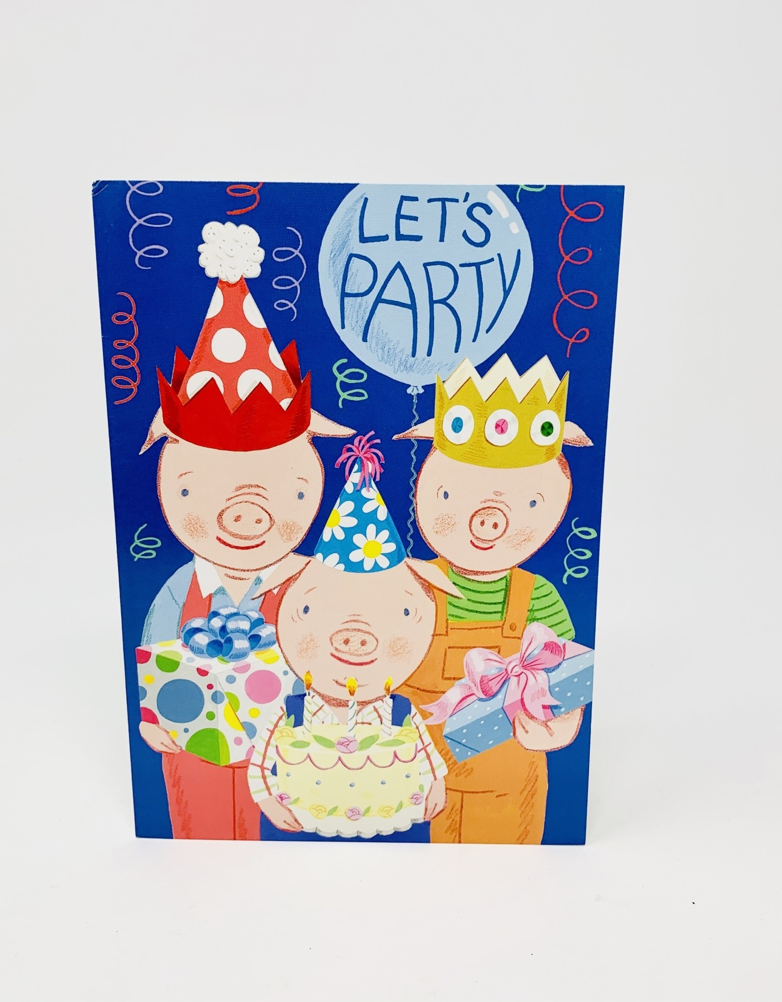 Eboo 3 pigs-Lets party