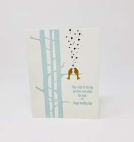 Design Design 2 gold birds w/ Hearts