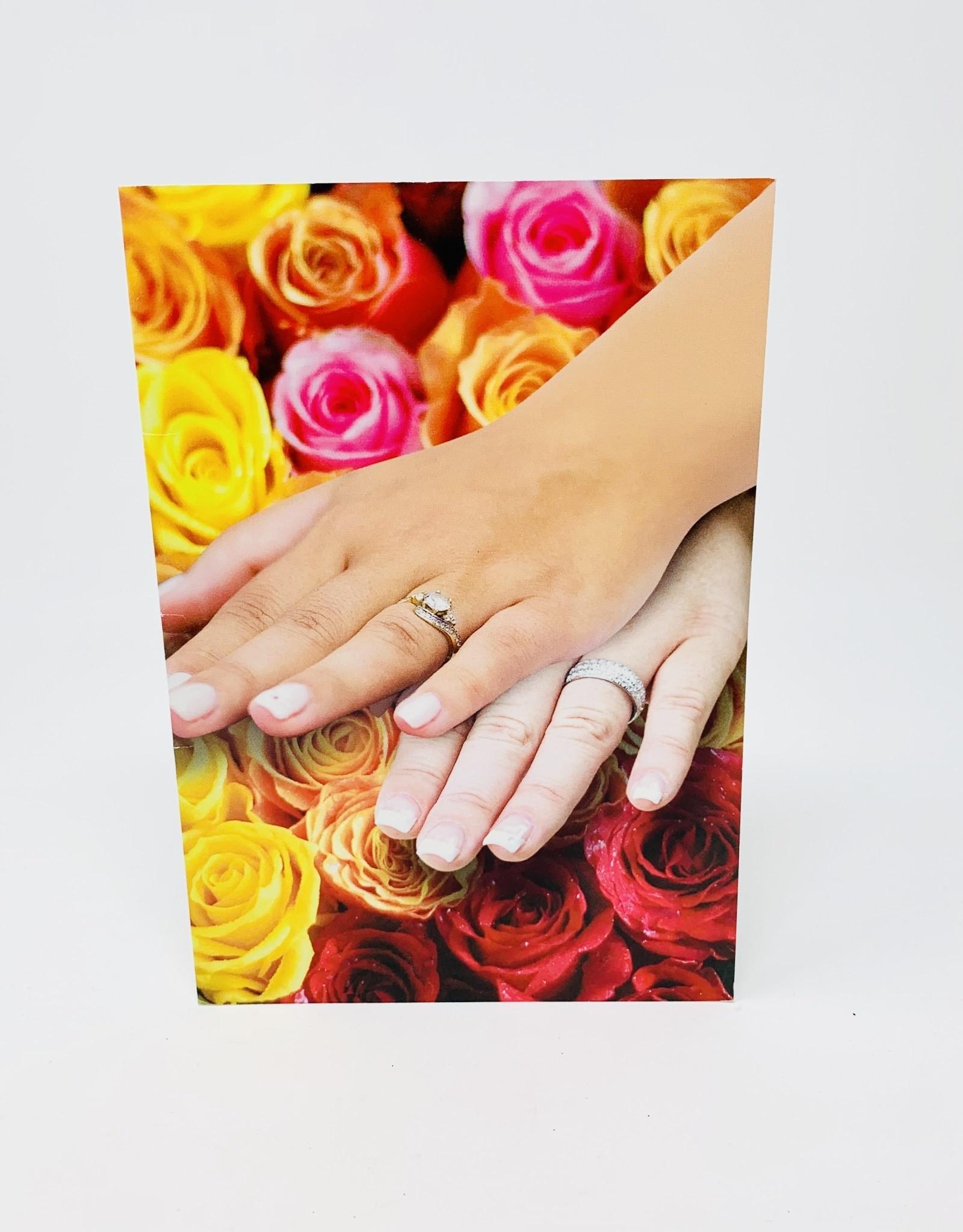 NobleWorks Two women wedding rings