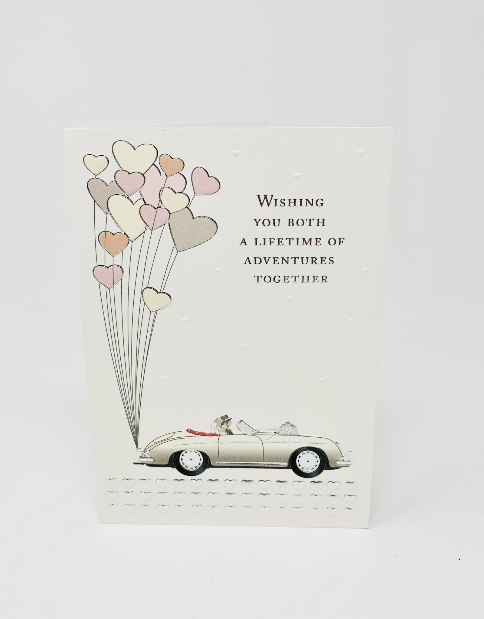 Notes & Queries White car w/ Hearts