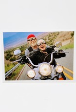 Palm Press motorcycle couple