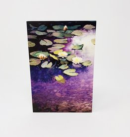 Pictura Glitter Lily Pads