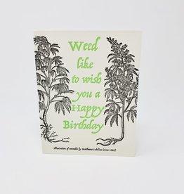 Big Wheel Press Cannabis Birthday