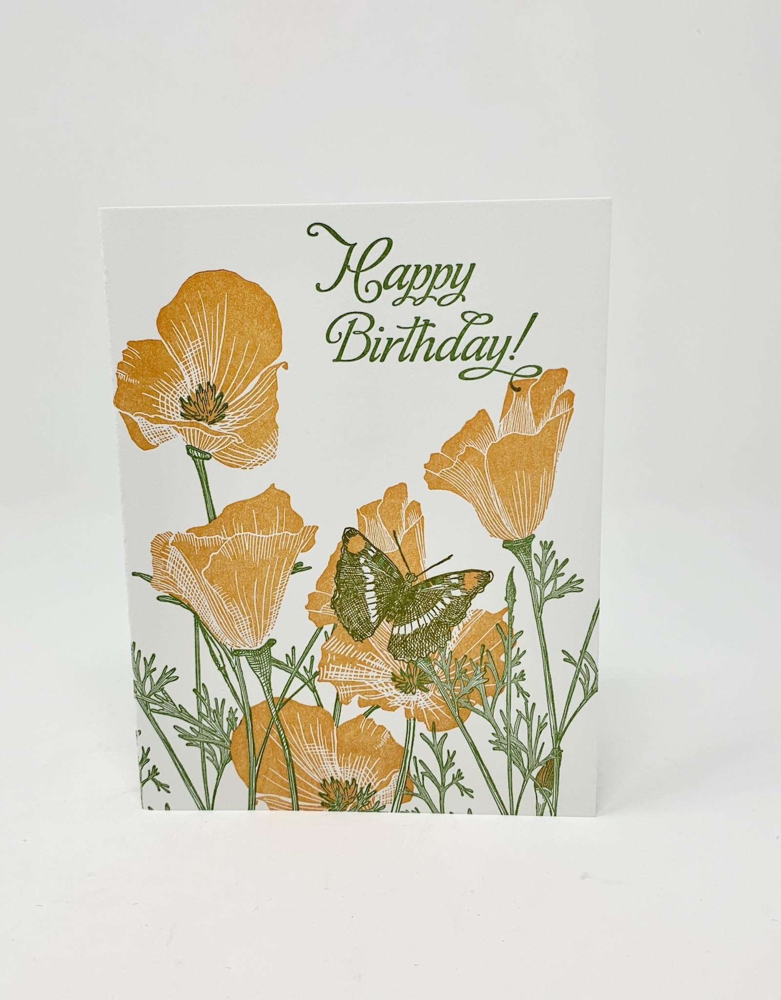 Painted Tounge Studio California Poppy Bday