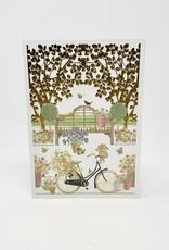 Design Design Bike in garden