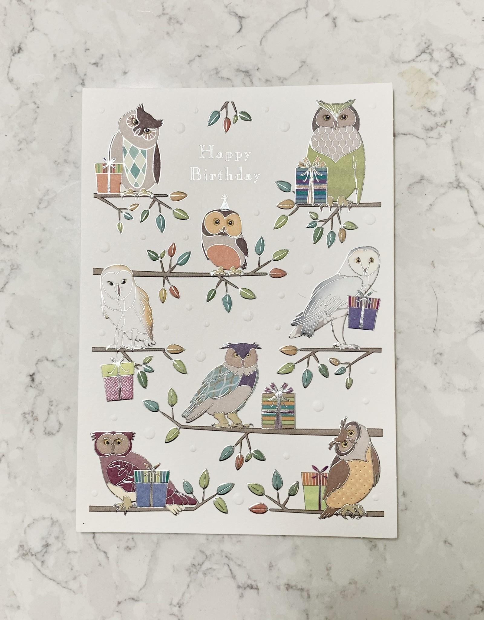 Design Design Owls on branches