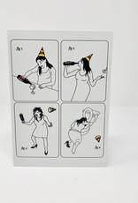 Mincing Mockingbird Wine Drinker Birthday