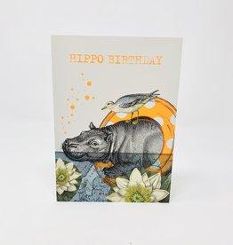 Nelson Line Hippo Birthday
