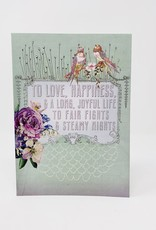 Papaya Wedding wish card