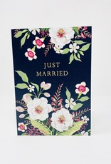 Notes & Queries Just married-BLK w/ Flowers