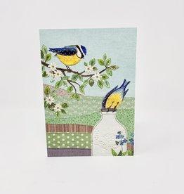 Notes & Queries Blue birds/Bottle-BA