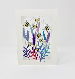 Shadywood Designs Bumble Bees and Flowers Cut Out