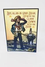 Artist to Watch Sharp Lookout-Man w/ beer