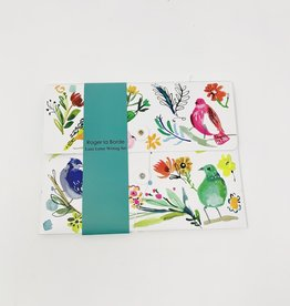 Roger La Borde Birds/Flower letter set