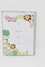 Gina B Designs your invited flowers Invite