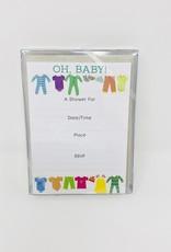 Gina B Designs Oh Baby-Clothes Invite