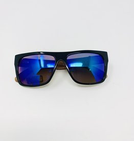 Blue Planet Eyewear Keegan- Black/bamboo Sunglasses