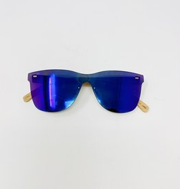 Blue Planet Eyewear Delmar- multi/bamboo Sunglasses