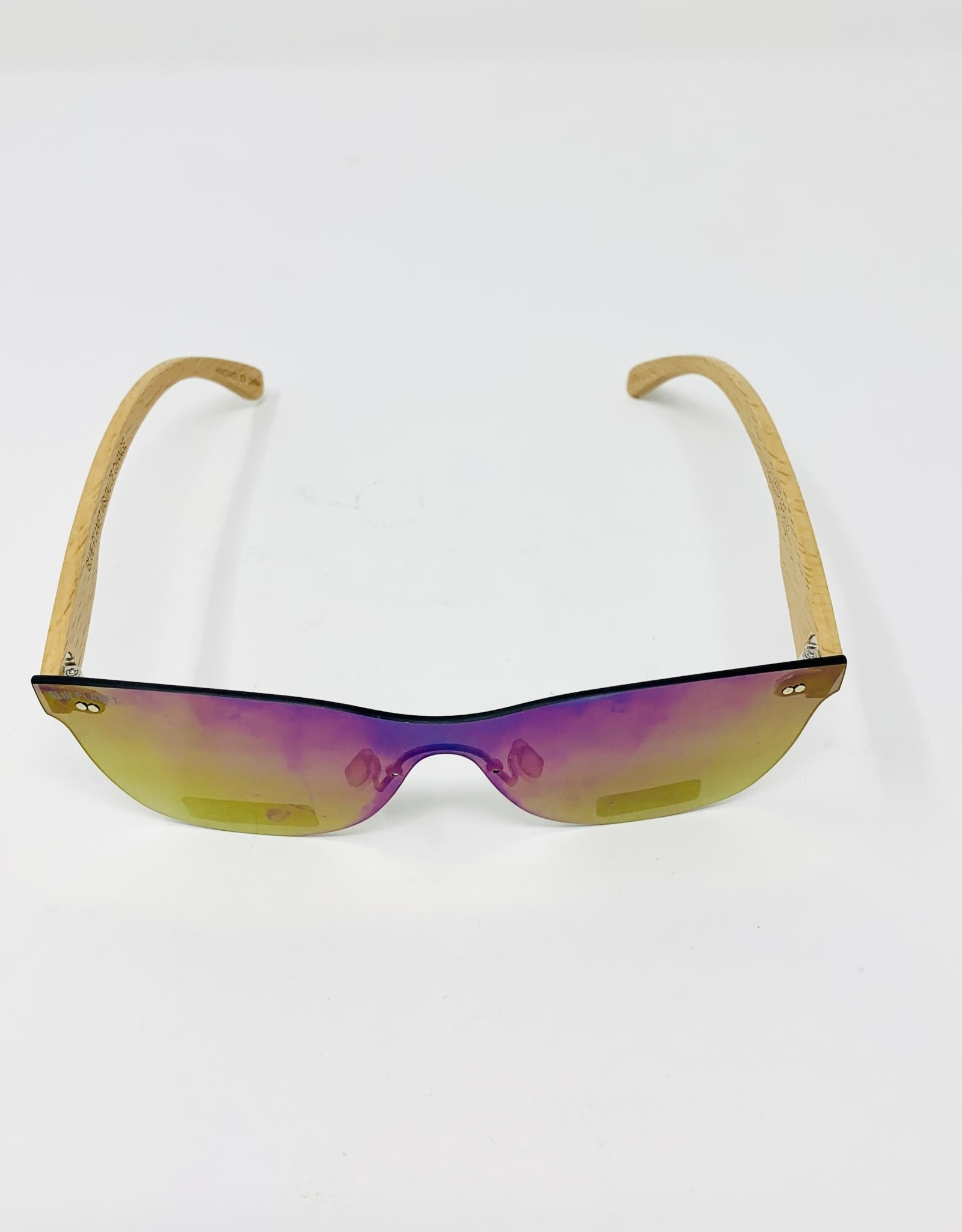 Blue Planet Eyewear Delmar- multi/bamboo Sunglasses