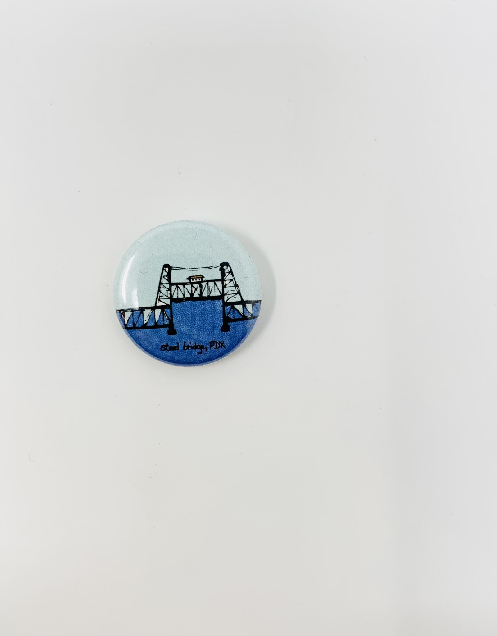 Badge Bomb PDX small Button