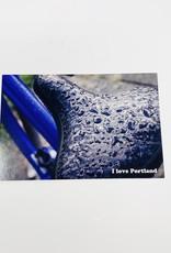 Jason Savage Rainy Bike Portland Postcard