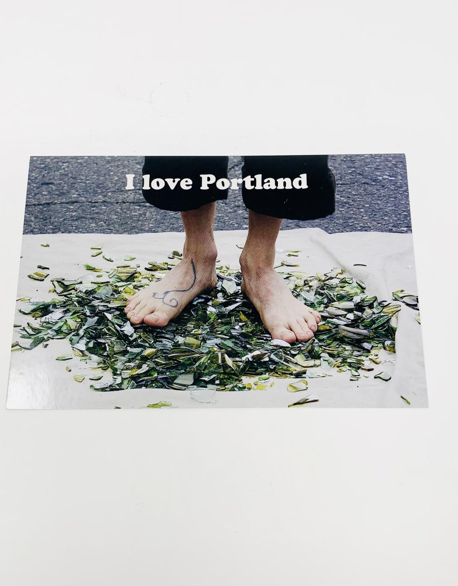 Jason Savage Glass Portland Postcard