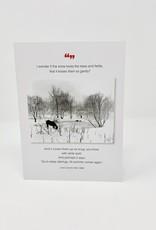 Borealis Press Horse and Frozen Pond