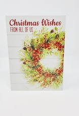 Design Design Christmas Wishes  Berry Wreath
