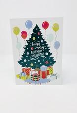Design Design Birthday Merry Christmas Presents