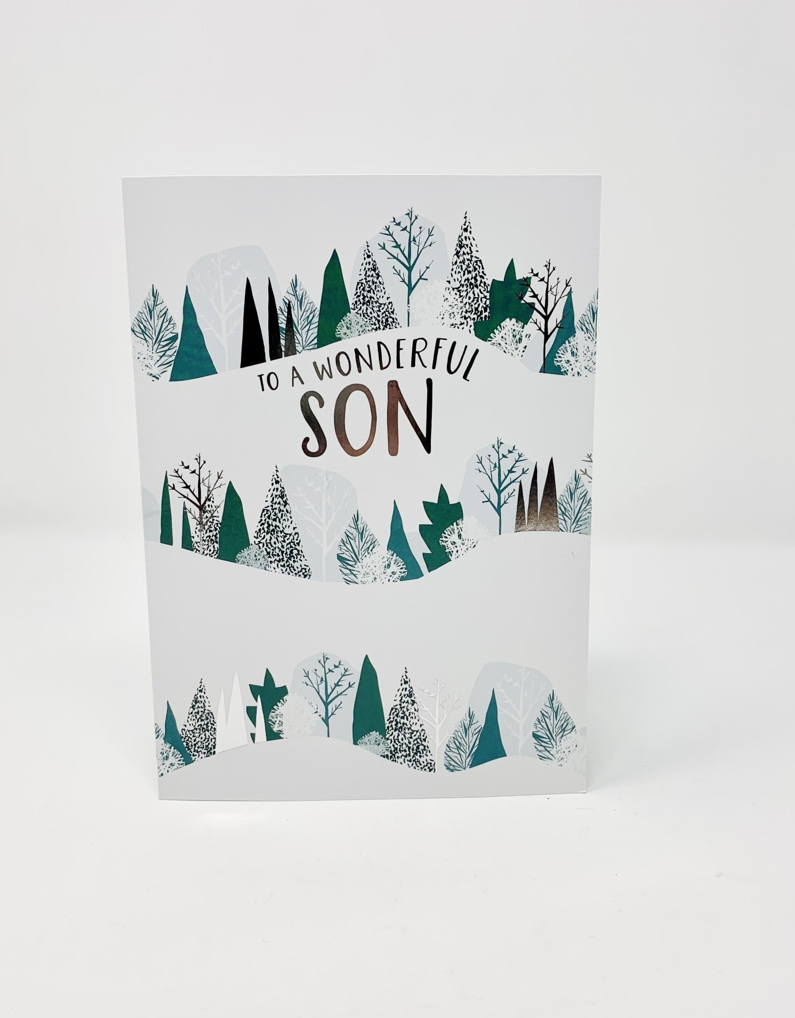 Design Design Son Snowy Tree Slope