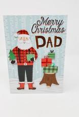 Design Design Lumberjack Santa Dad