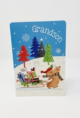 Pictura Grandson Mouse and Sleigh