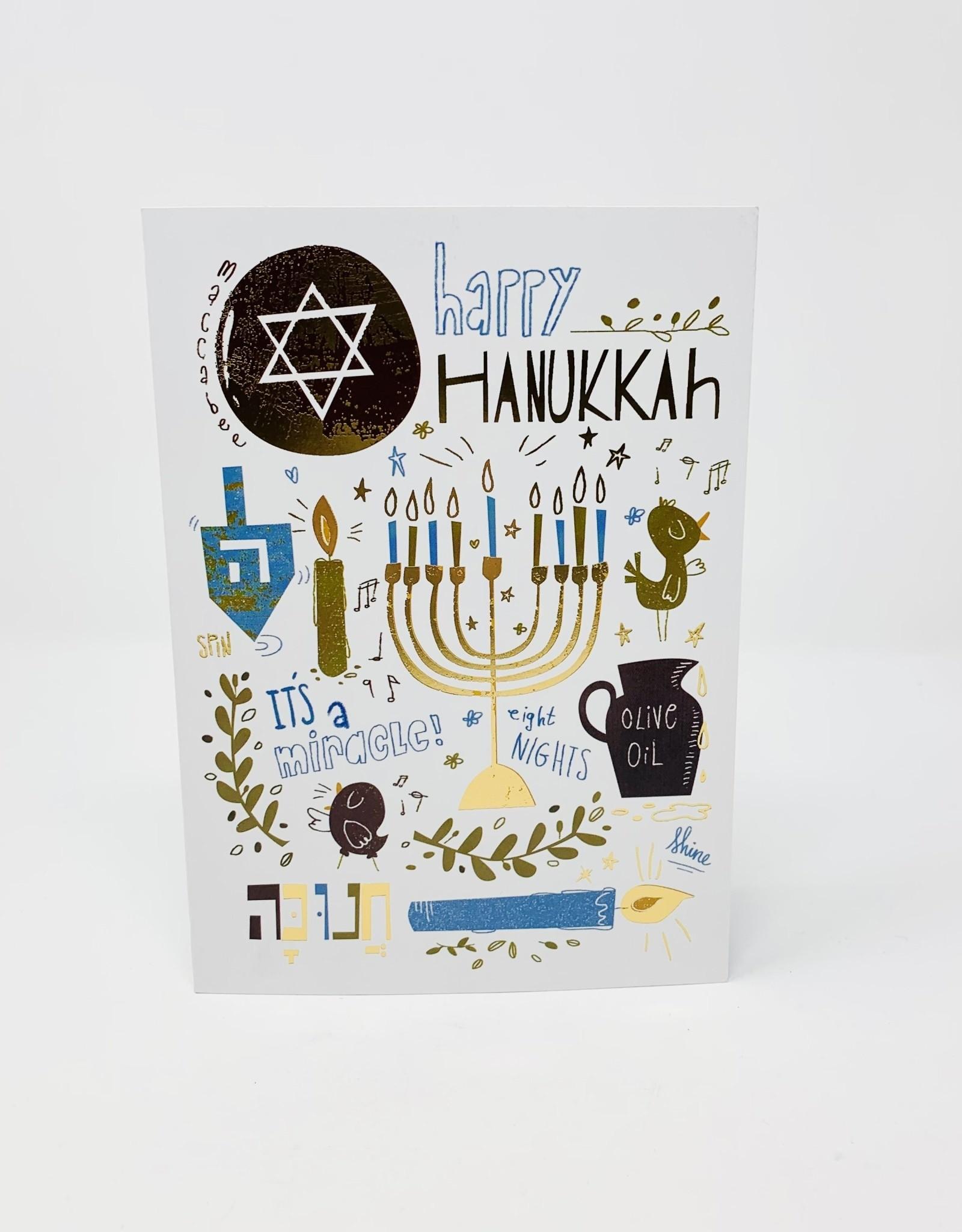 Design Design Hip Hanukkah Icons