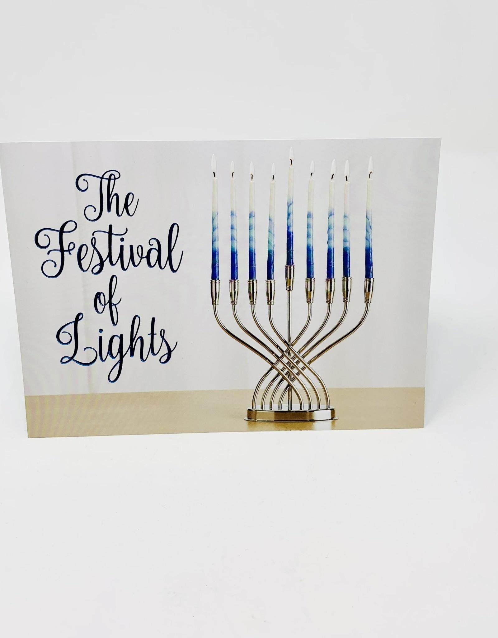Design Design Festival of Lights Menorah