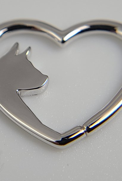 Puppy Love Seam Ring in Gold